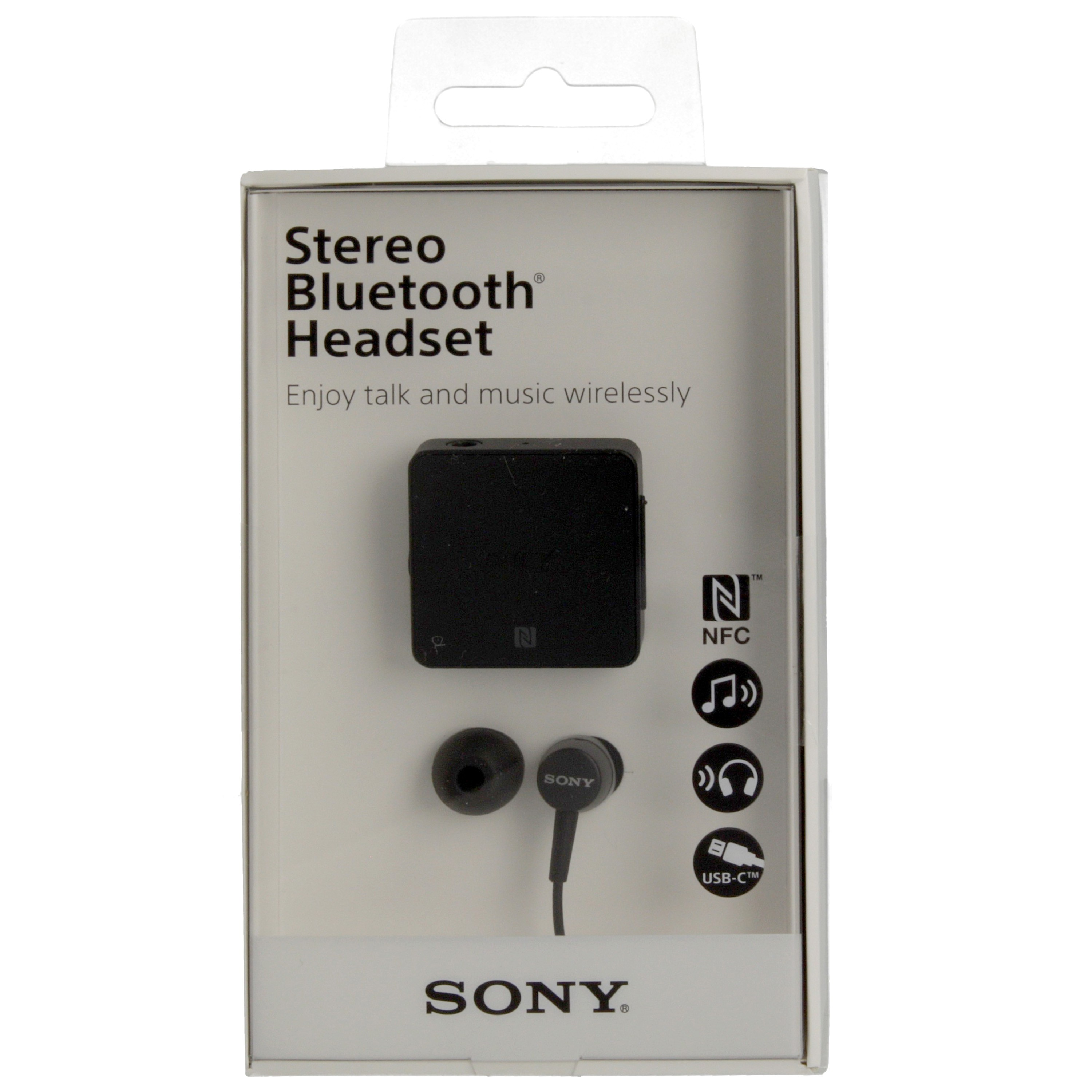 Sony Bluetooth Headset Stereo Sbh24 With Nfc Black Qmr Shop