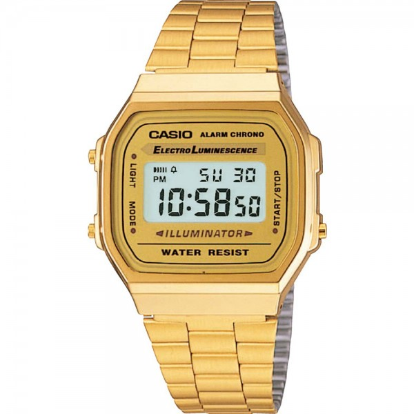 Classis Digital Watch - Gold