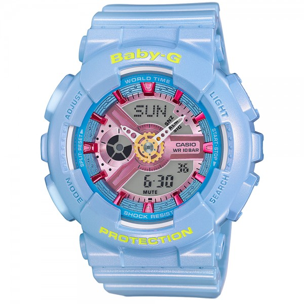 Baby-G Ladies Watch with Resin Strap - Blue
