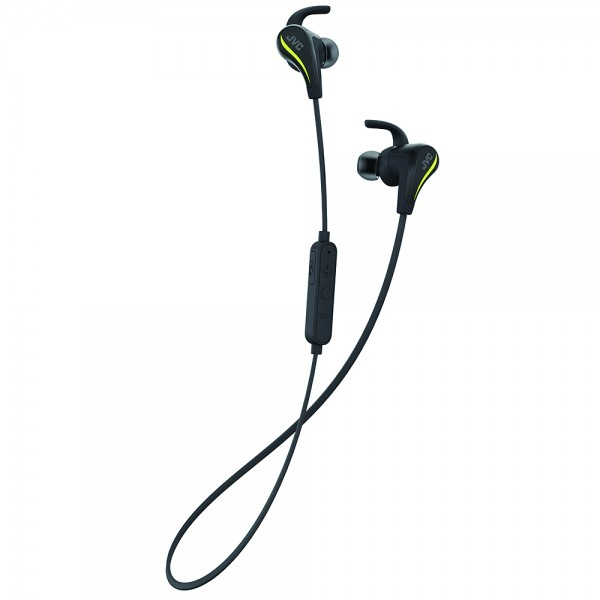 AE Wireless Bluetooth Sports Headphones with Pivot Motion Fit - Black