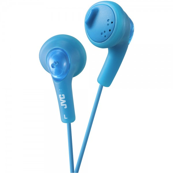 Gumy Bass Boost Stereo Headphones - Peppermint Blue