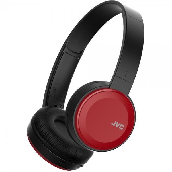 Deep Bass Bluetooth On Ear Headphones - Red