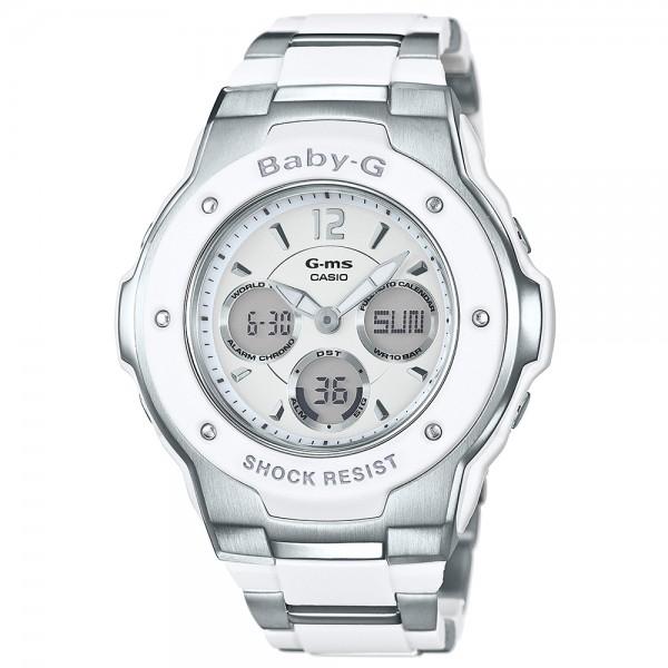 Baby-G Alarm Chronograph Watch - White