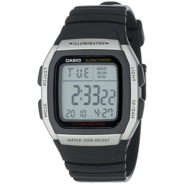 Digital Watch with Extended Battery Life Timer